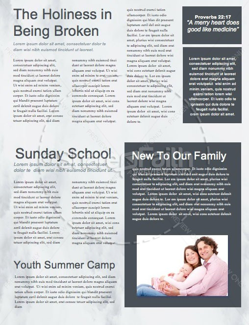 Outpouring of the Holy Spirit Church Newsletter
