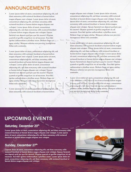Expect the Unexpected Christmas Newsletter