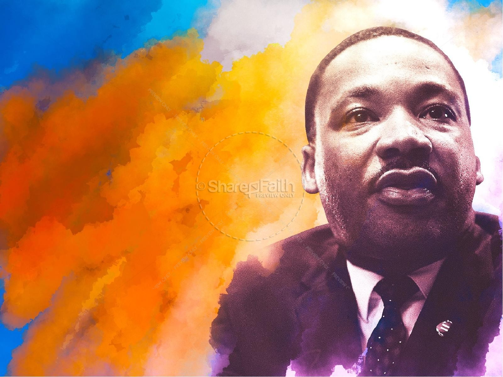 I Have A Dream Martin Luther King Sermon PowerPoint