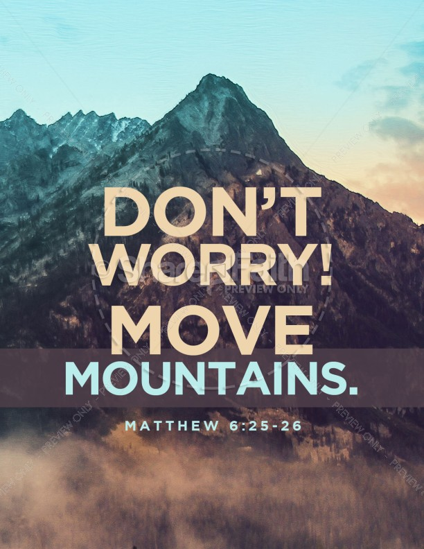 Moving Mountains Church Flyer