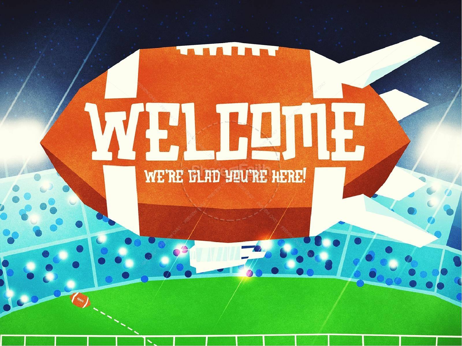 Super Sunday Big Game Church PowerPoint