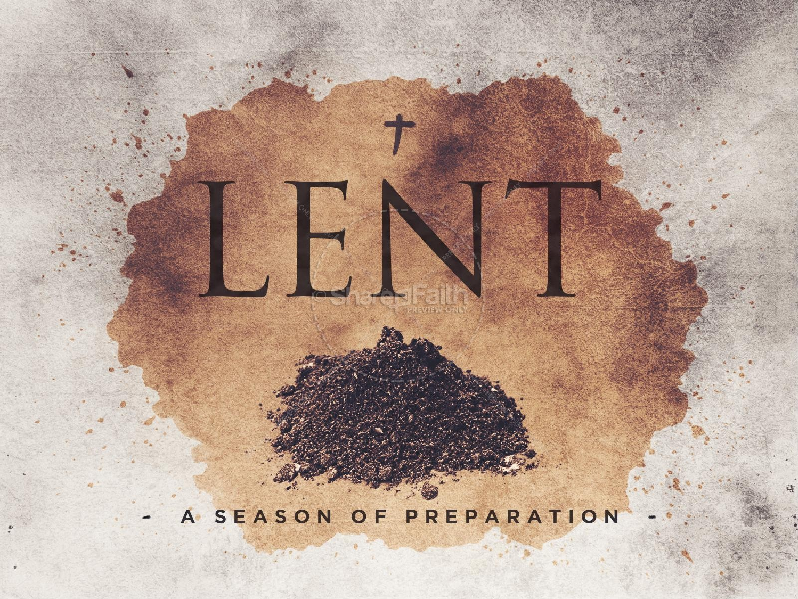 Lent Season Sermon PowerPoint