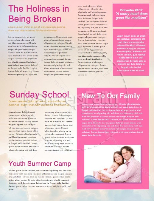 Relentless Grace Church Newsletter