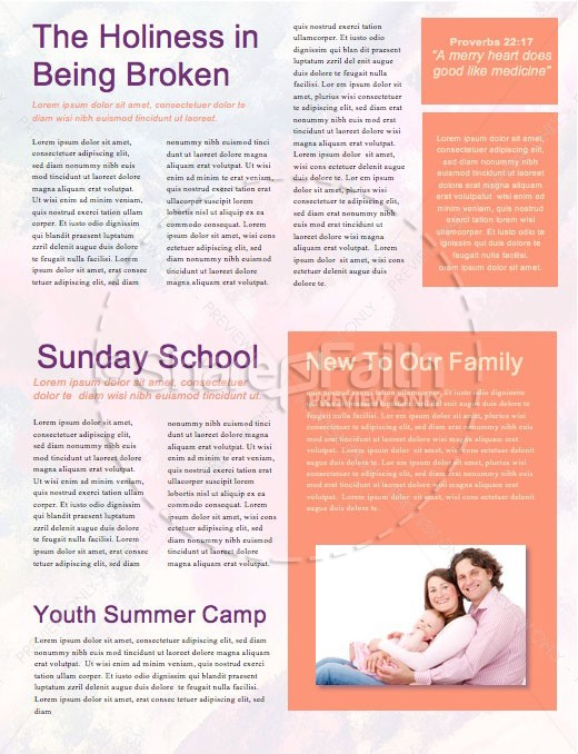 Purpose of Life Church Newsletter