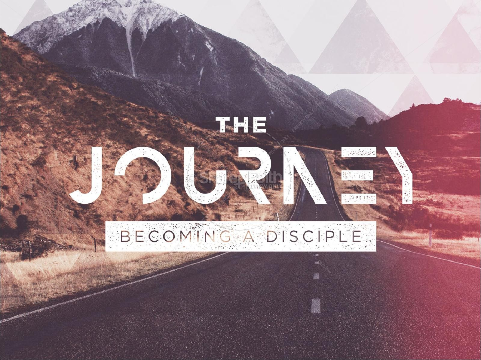 Journey With Christ Church PowerPoint