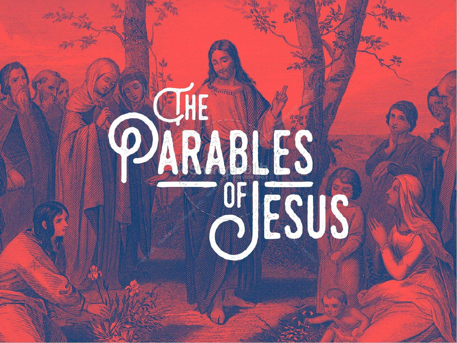 Parables of Jesus Christ Sermon PowerPoint