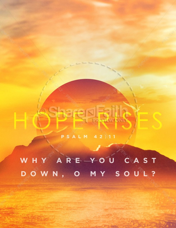 Hope Rises Church Flyer