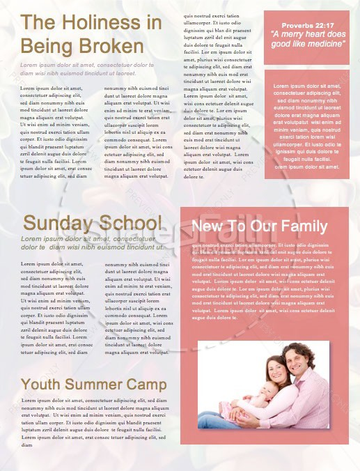 Easter Flower Church Newsletter | page 2