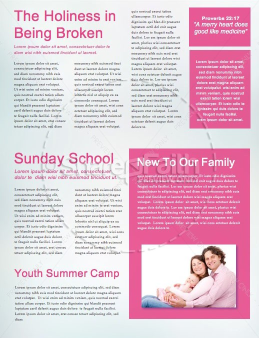 Being Mom Mother's Day Church Newsletter