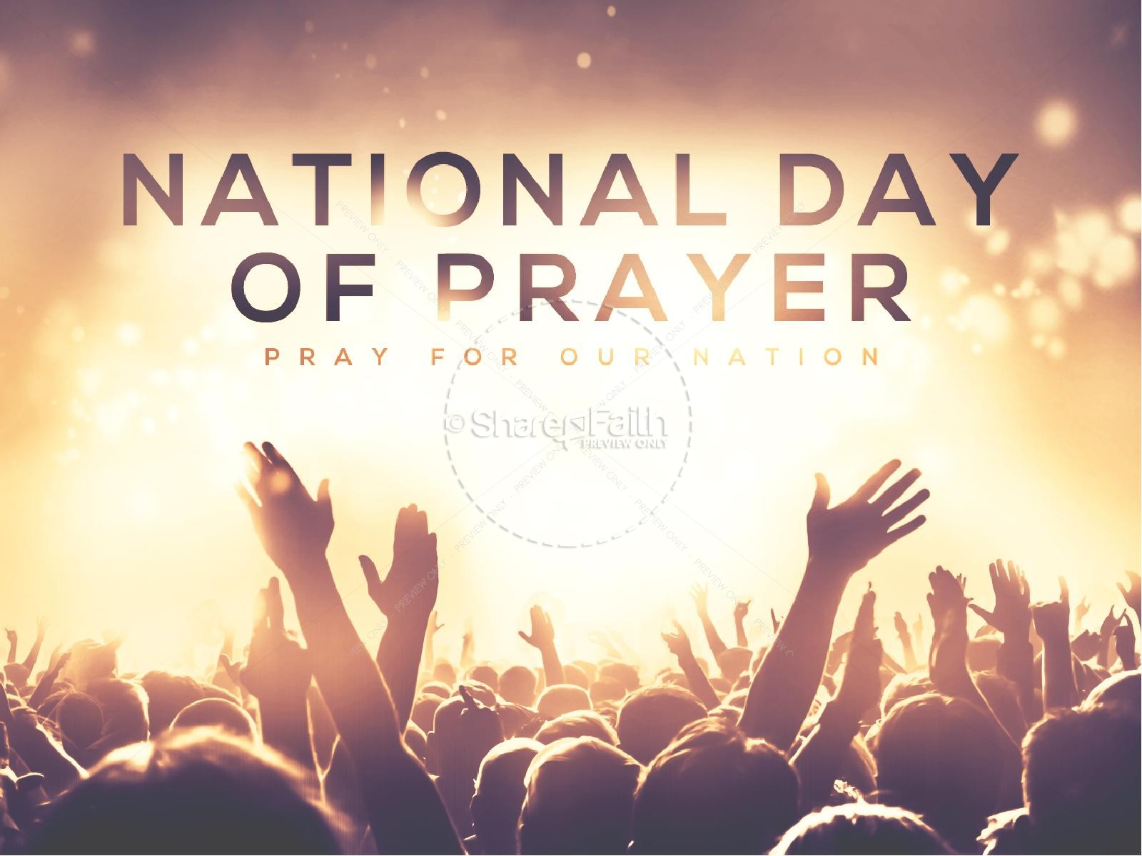 National Day of Prayer Worship Church PowerPoint