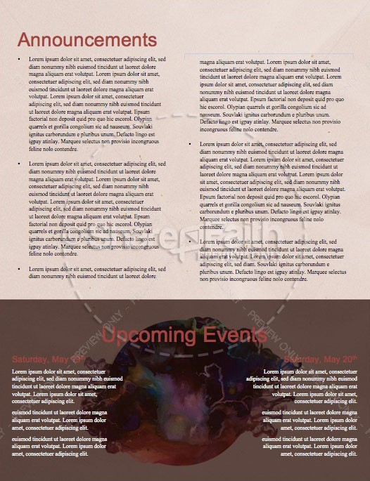 Holy Spirit Pentecost Church Newsletter | page 4