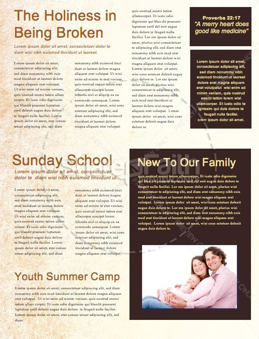 Leaving A Godly Legacy Church Newsletter | page 2