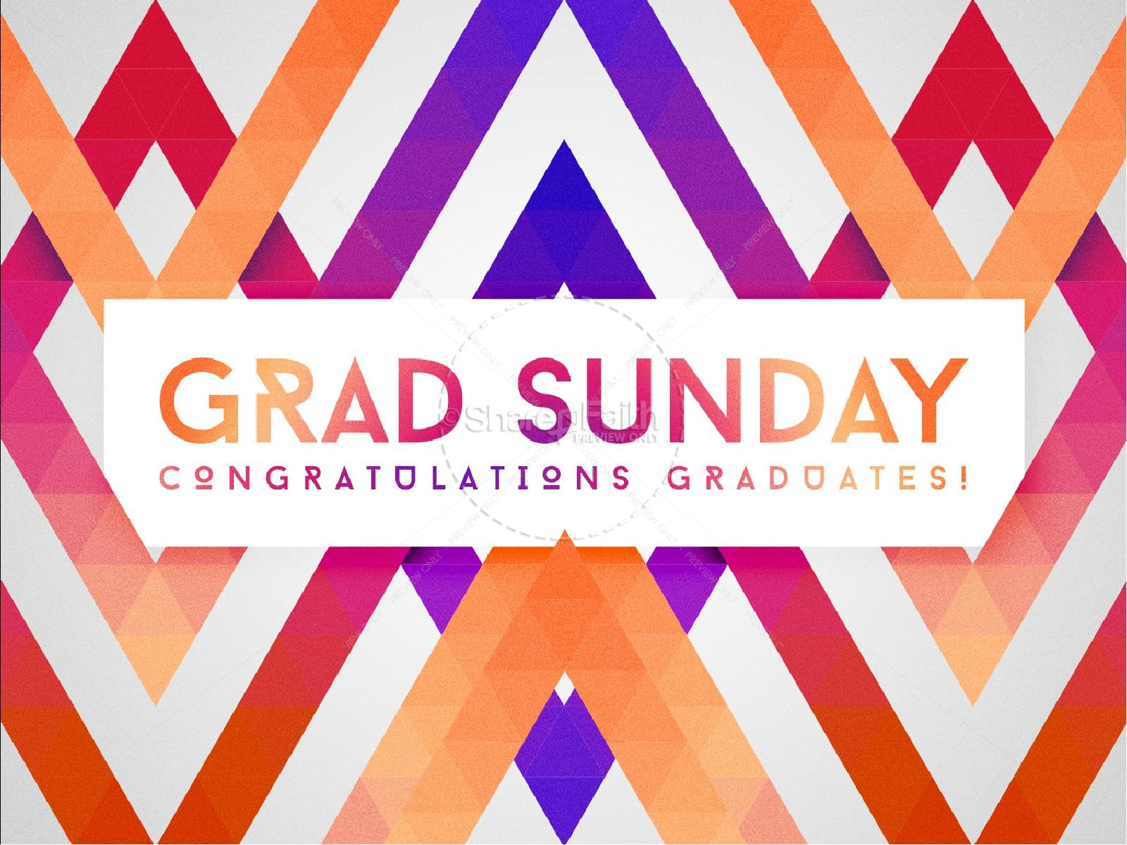 Graduation Sunday Sermon PowerPoint