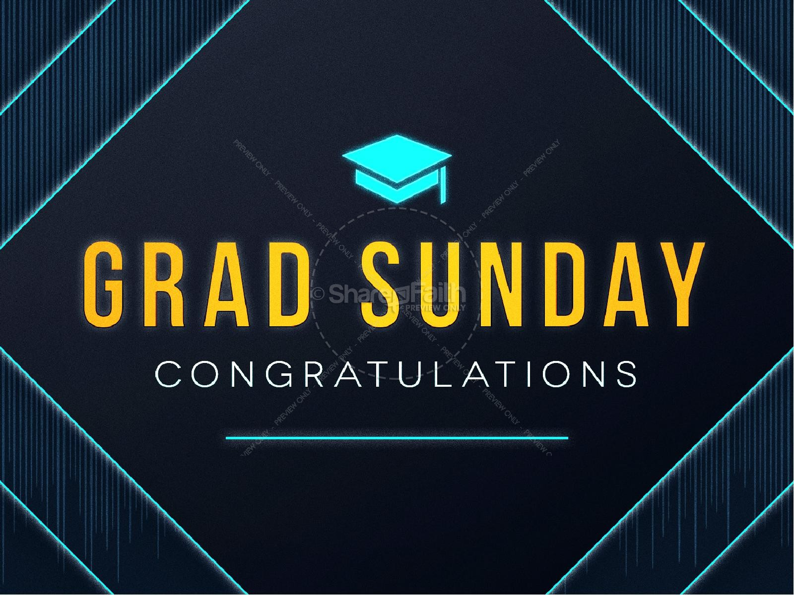 Graduation Sunday Church PowerPoint