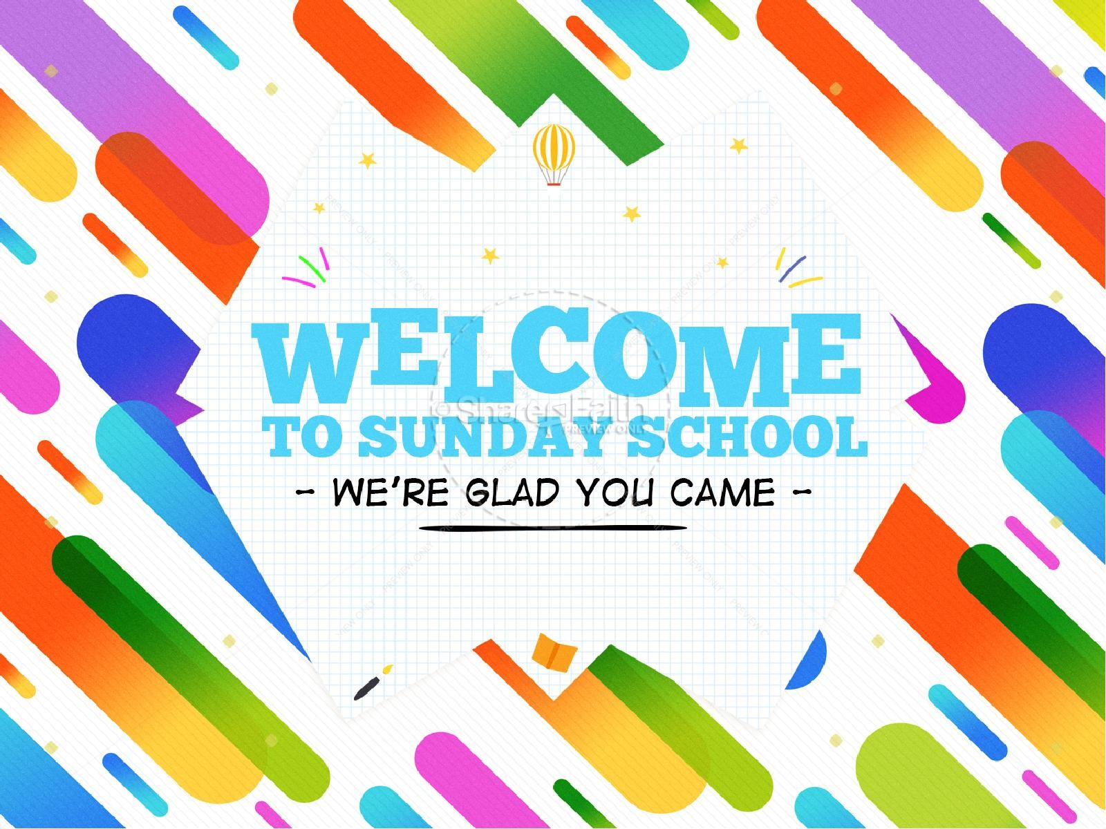 Sunday School Jelly Bean Children's Church PowerPoint