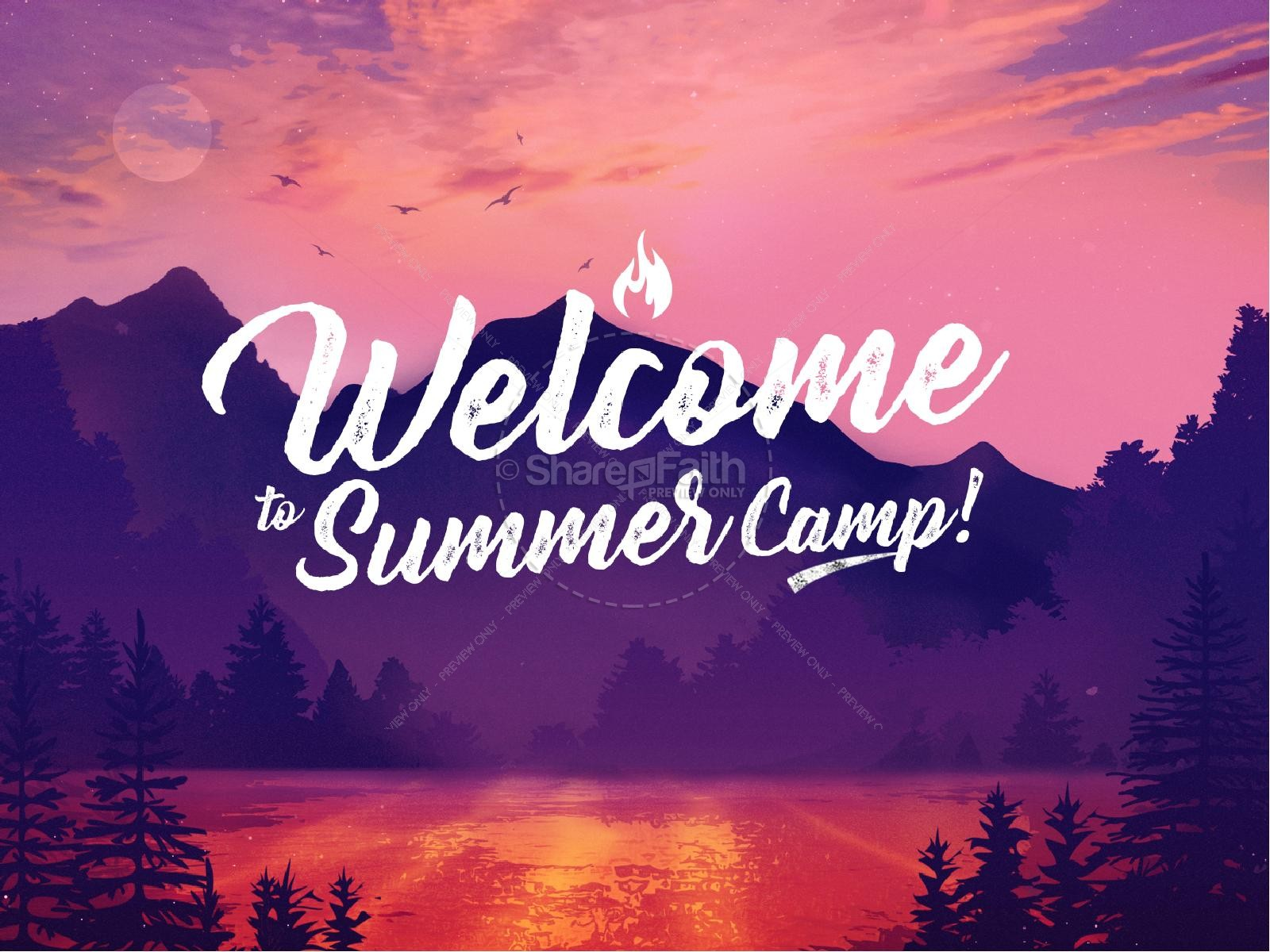 Church Summer Camp PowerPoint
