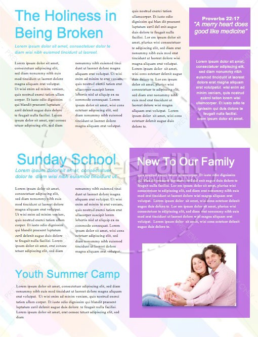 Sunday School Jelly Bean Children's Church Newsletter | page 2