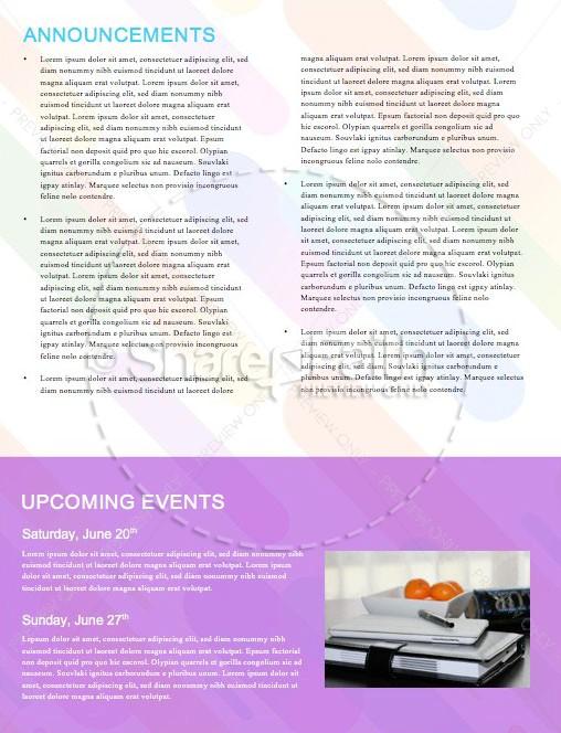 Sunday School Jelly Bean Children's Church Newsletter   page 4