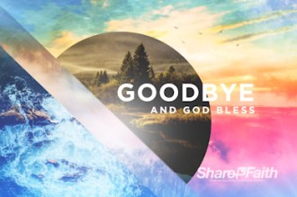 Holy Living Goodbye Motion Graphic Church Motion Graphics