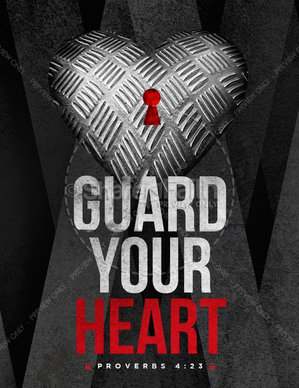 Guard Your Heart Church Flyer