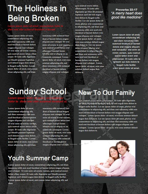 Guard Your Heart Church Newsletter