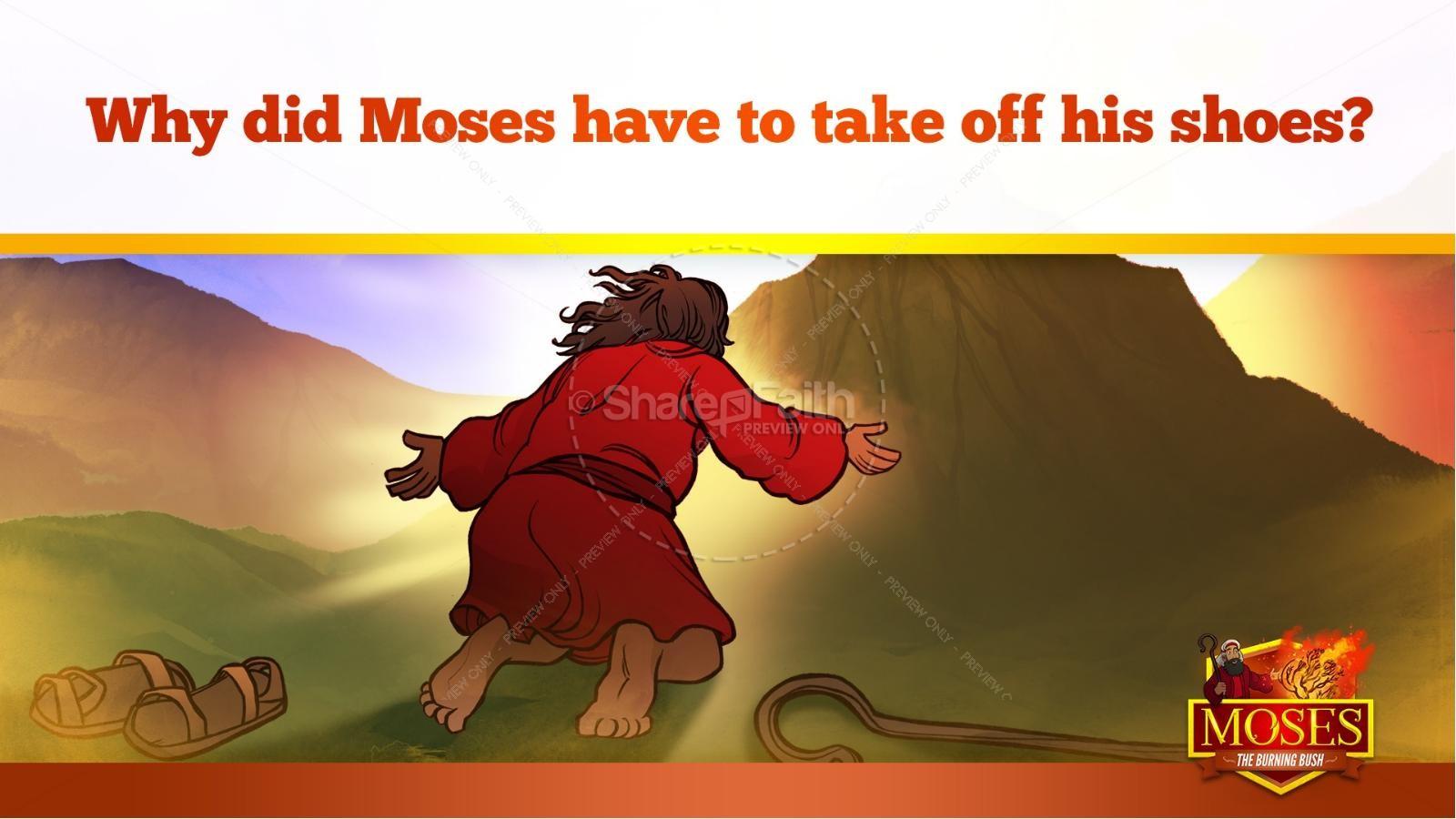 Exodus 3 Moses and the Burning