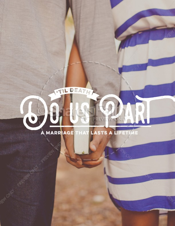 Till Death Do Us Part Marriage Retreat Flyer
