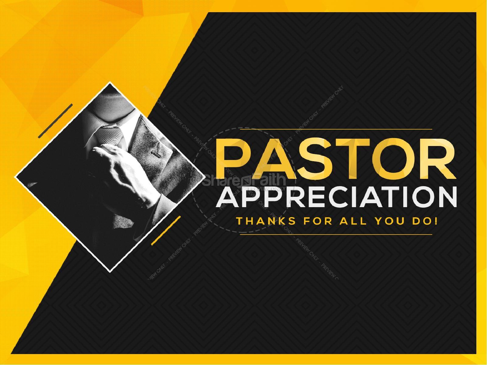 Pastor Appreciation Sermon PowerPoint | slide 1