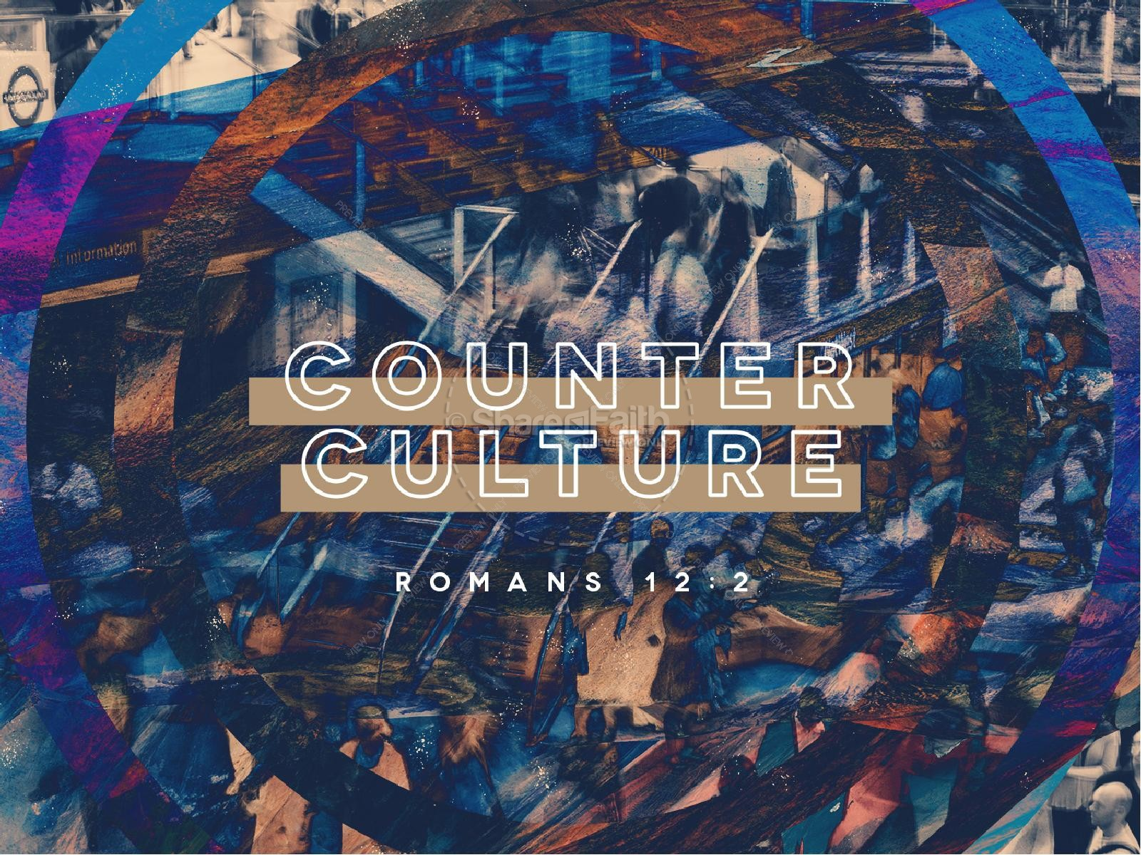 Counter Culture Sermon Series Graphic