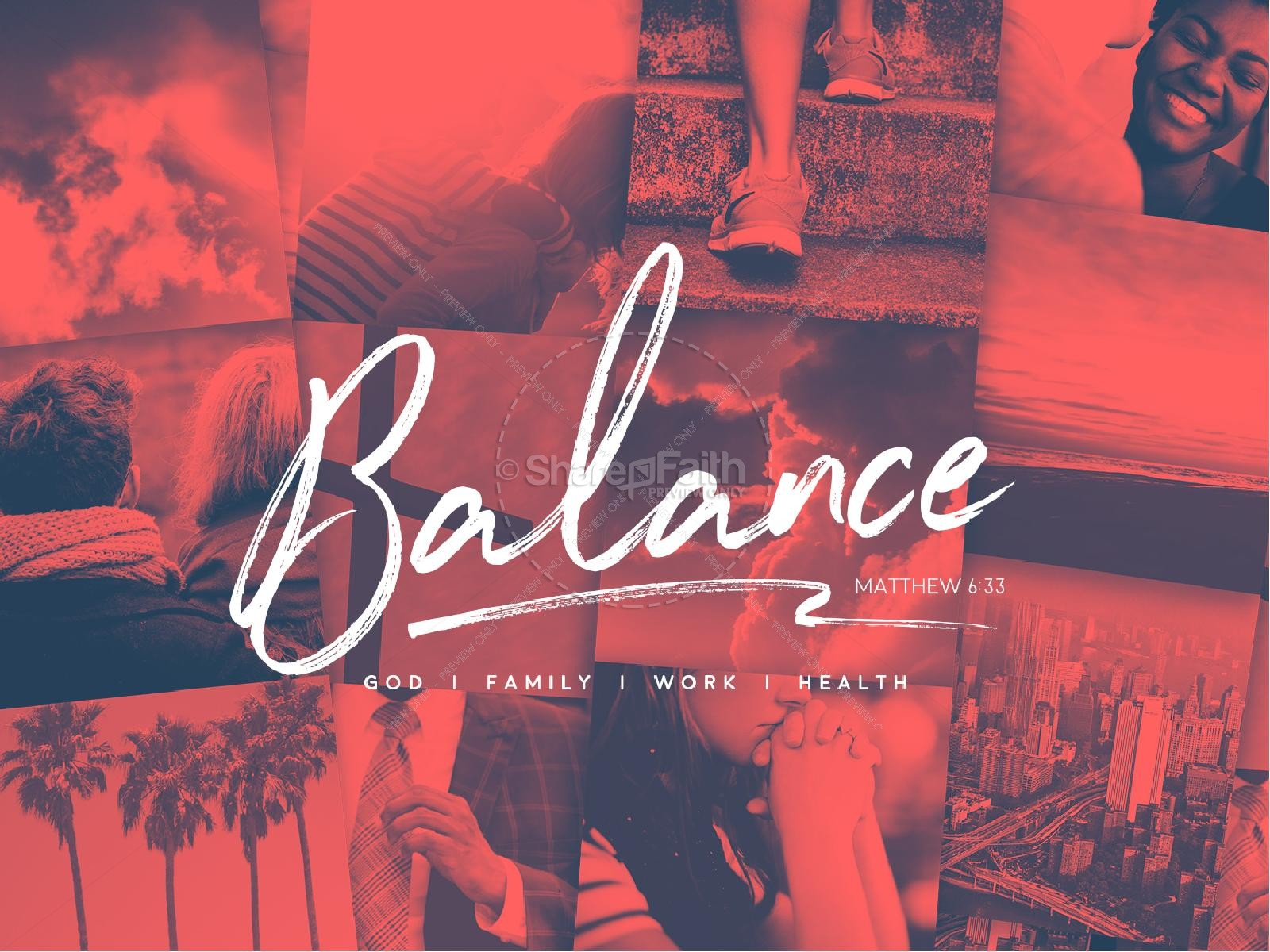 Balance In Life Sermon Graphic