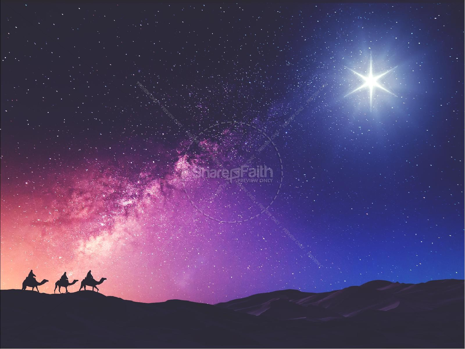 Wise Men Still Seek Him Christmas PowerPoint