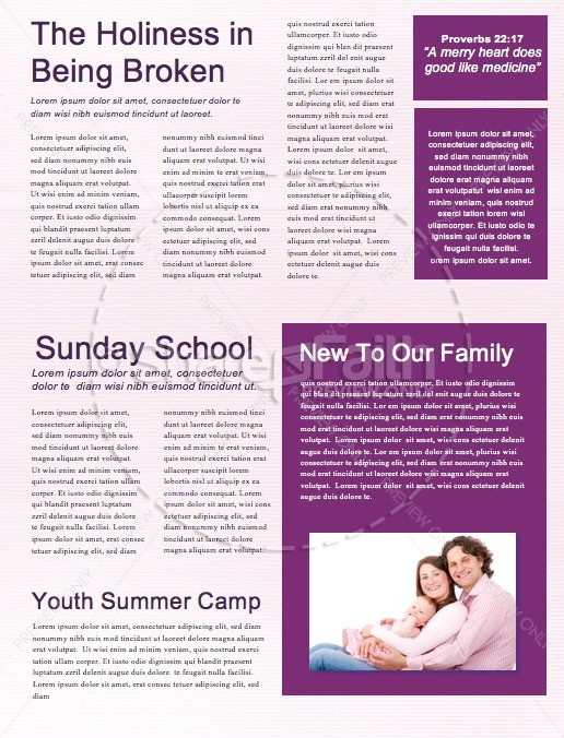 Happy New Year Modern Church Newsletter | page 2