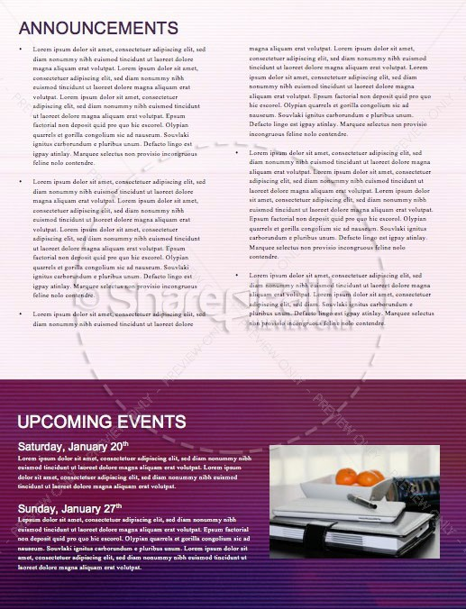 Happy New Year Modern Church Newsletter | page 4