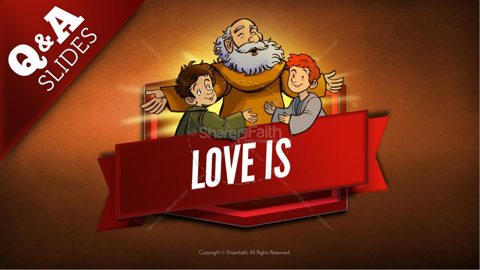 1 Corinthians 13 Love Is Kids Bible Story