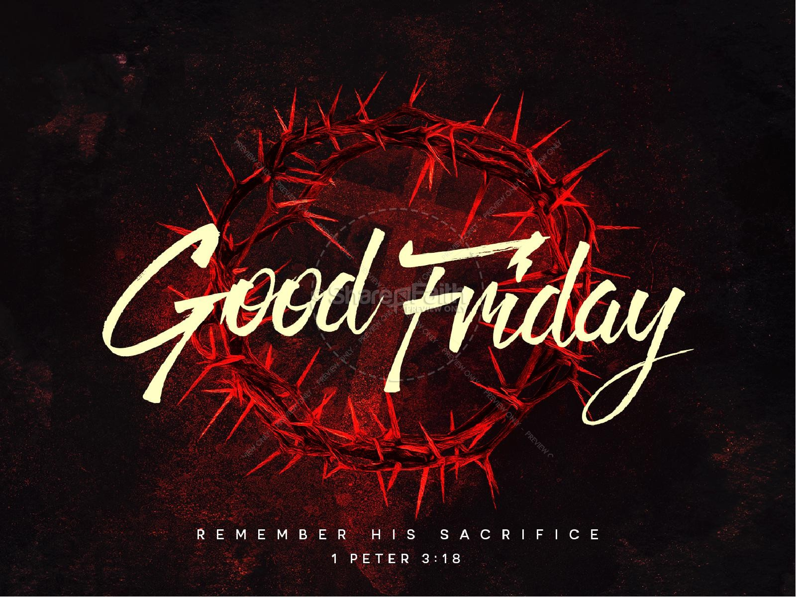 Good Friday Church Service PowerPoint
