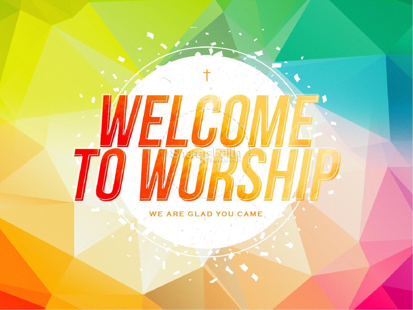 Easter Sunday Service Presentation Template | slide 2