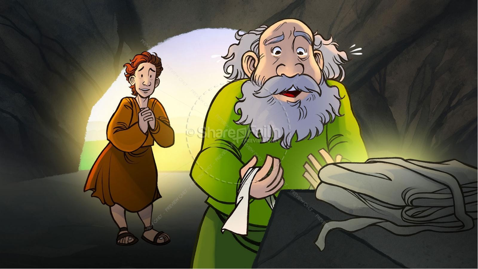 John 20 The Empty Tomb Kids Bible Story