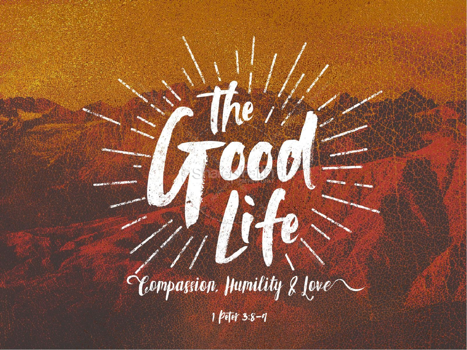 The Good Life Sermon Graphic