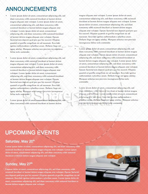 Congrats Grads Graduation Newsletter Template