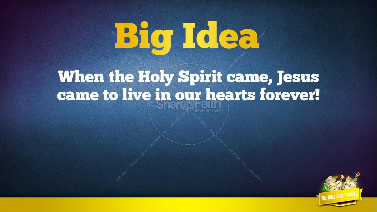 Acts 2 The Holy Spirit Comes Kids Bible Story | slide 38