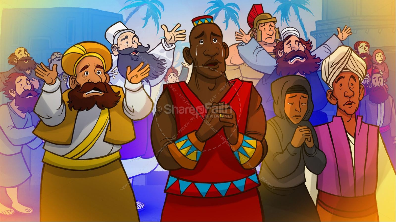 Acts 2 The Holy Spirit Comes Kids Bible Story | slide 7