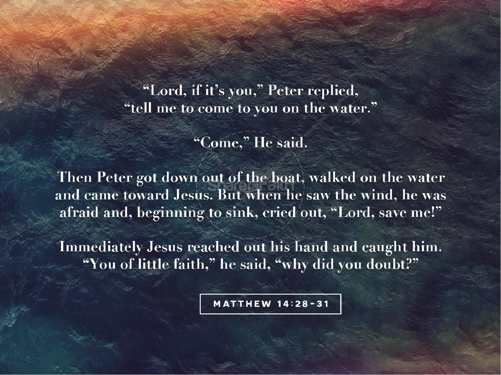 Walk On Water Sermon PowerPoint | slide 4