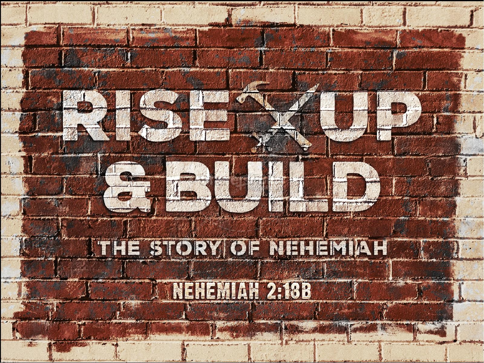 Rise Up And Build Sermon PowerPoint