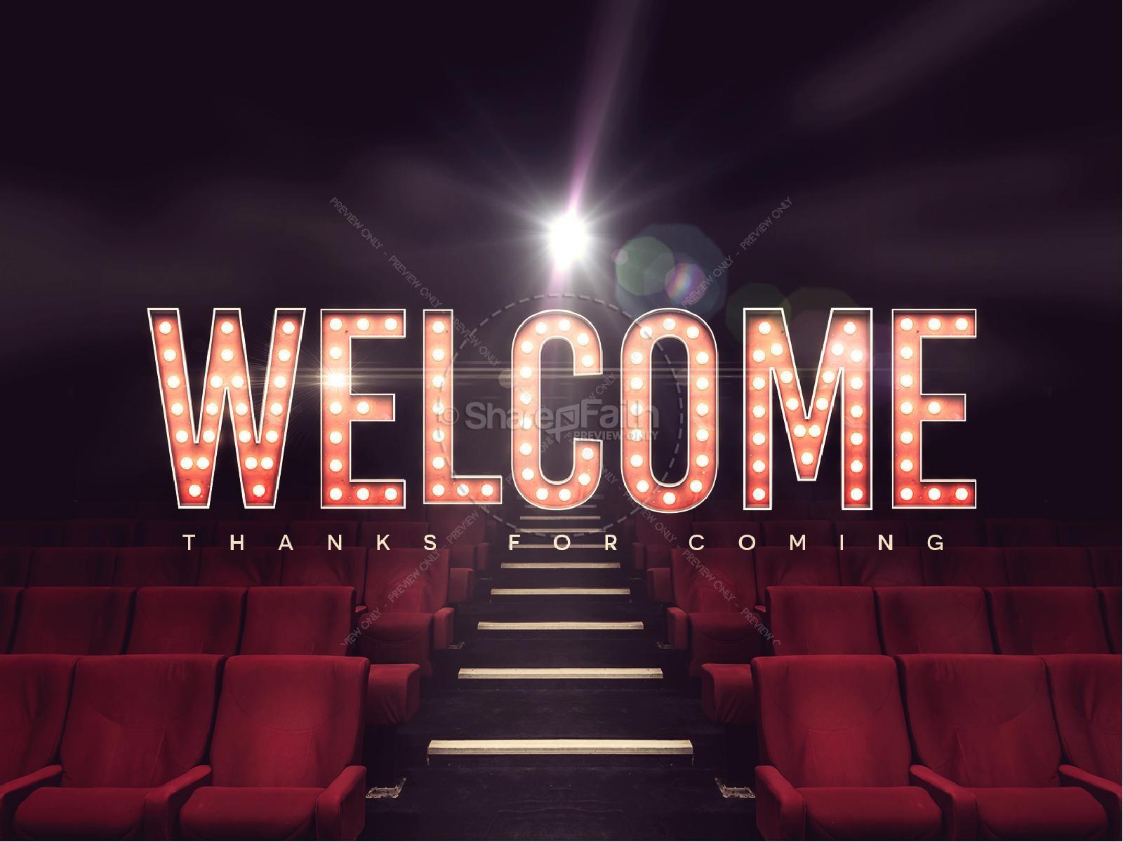 At The Movies Church Sermon Series PowerPoint   slide 2