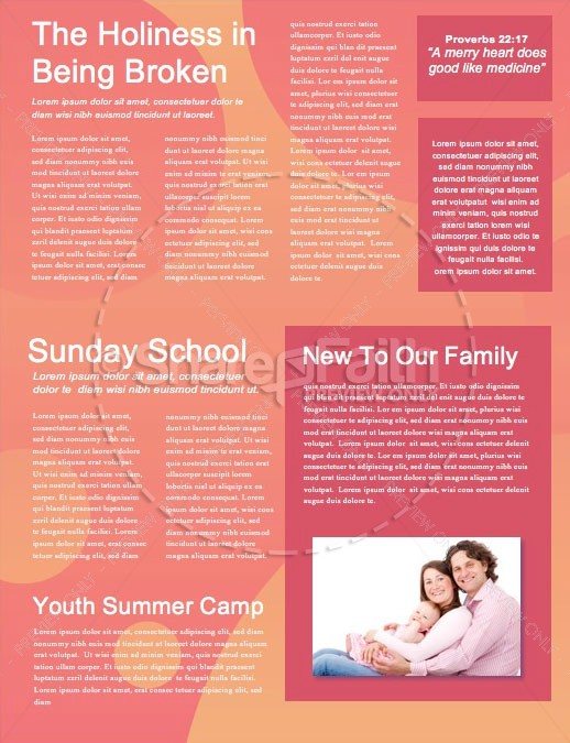 Love Your Neighbor Social Media Newsletter Template