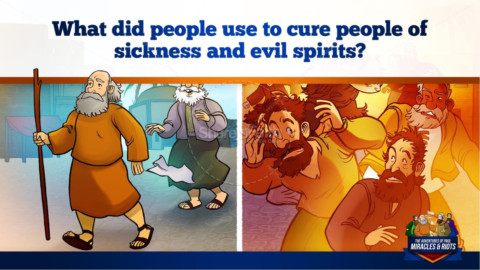 Acts 19 Miracles & Riots Kids Bible Story