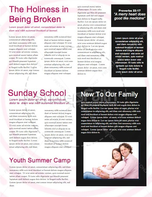 Starting Point Church Newsletter Template | page 2