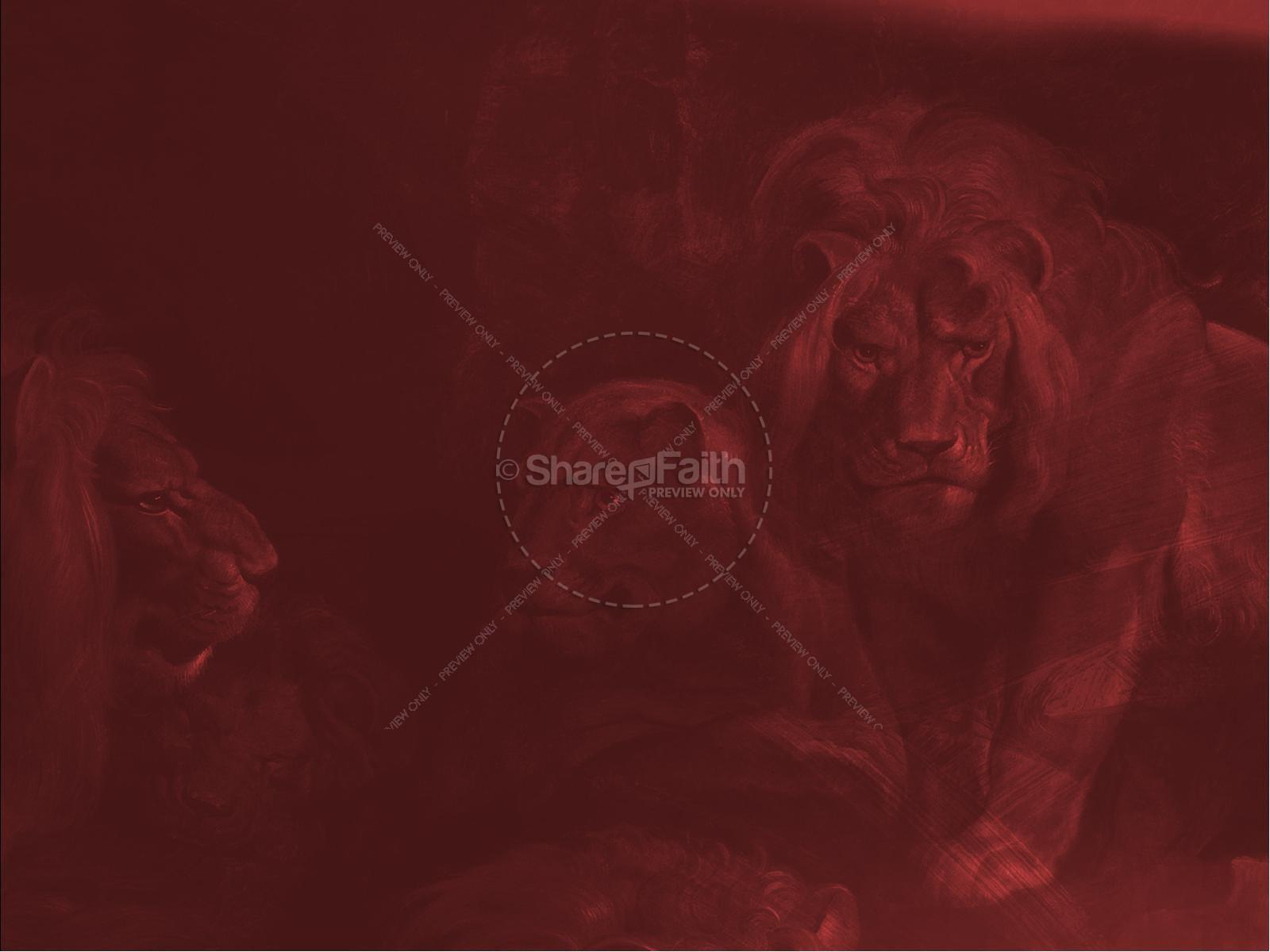 Book Of Daniel Lion's Den Sermon Graphic | slide 7