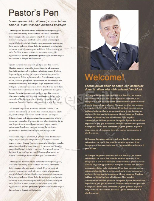 Book Of Daniel Lion's Den Church Newsletter | page 3