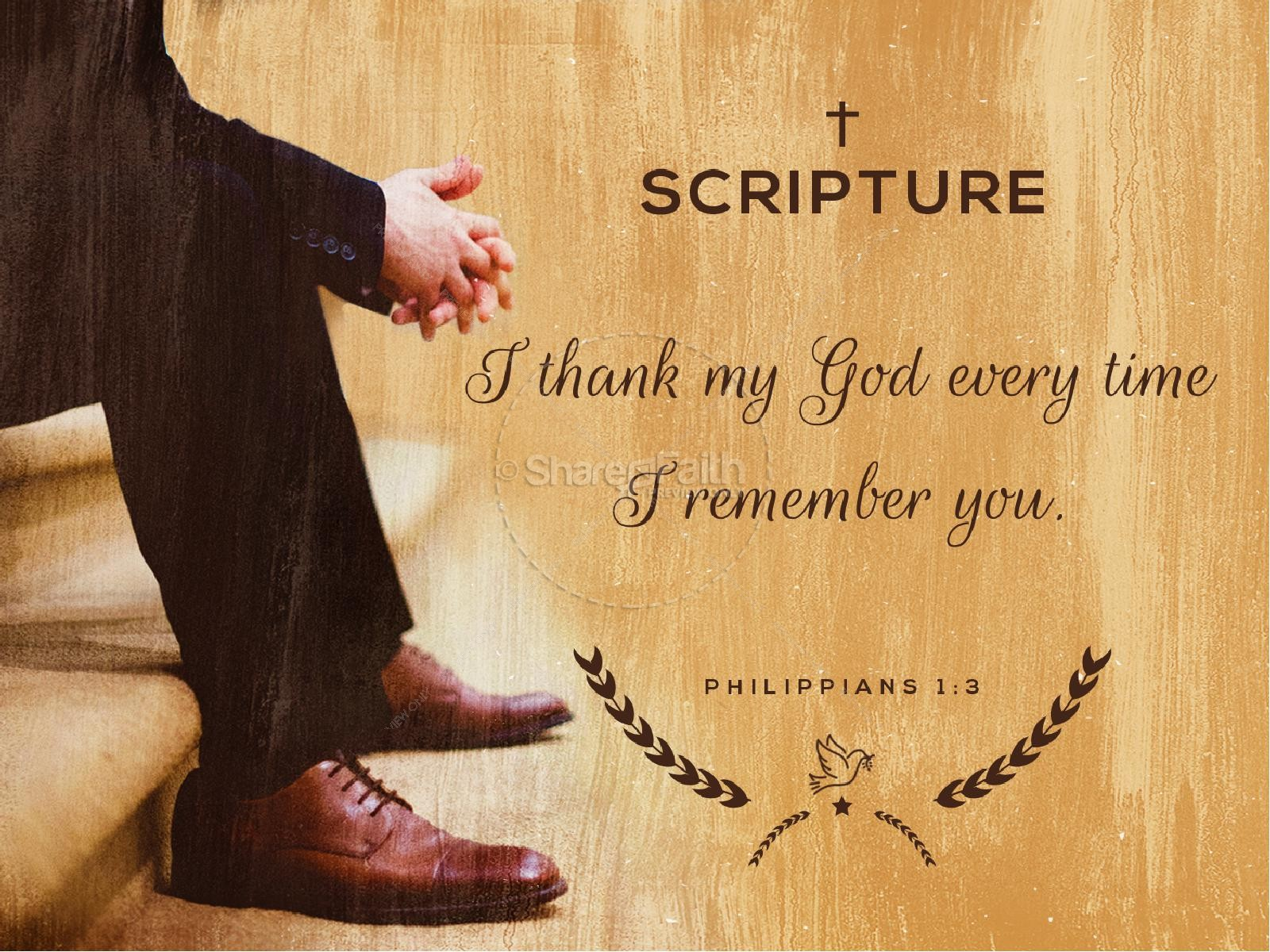 Pastor Appreciation Service PowerPoint   slide 4